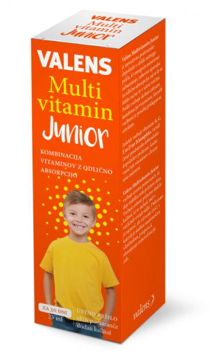 Valens Multivitamin Junior, ustno pršilo, 25 ml
