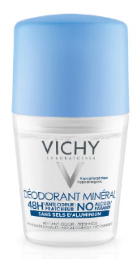 Vichy Mineralni dezodorant roll-on, 50 ml