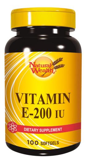 Natural Wealth Vitamin E 200 i.e., 100 kapsul