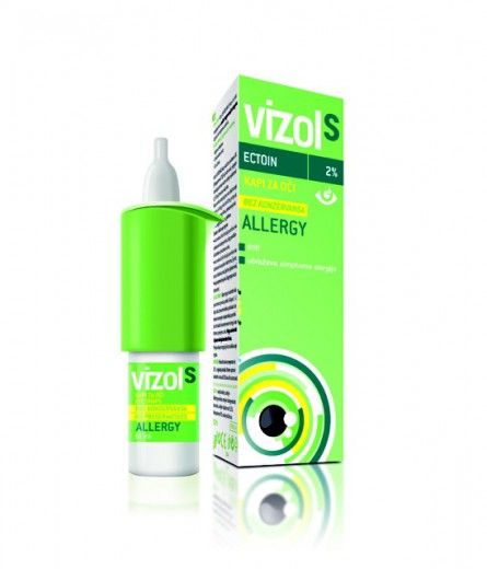 Vizol S Allergy, kapljice za oko, 10 ml