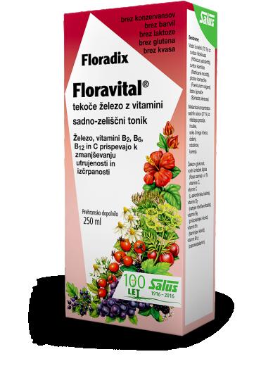 Floradix Floravital, tonik, 250 ml