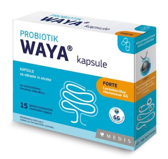 Waya Forte, 15 kapsul