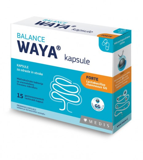 Waya Forte Balance, 15 kapsul