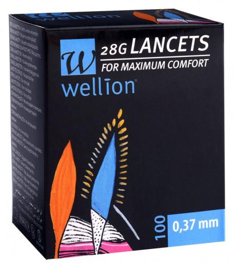 Wellion Lanceta G28, 100 lancet