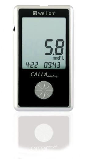 Wellion Calla Dialog Aparat, merilnik glukoze v krvi, 1 aparat