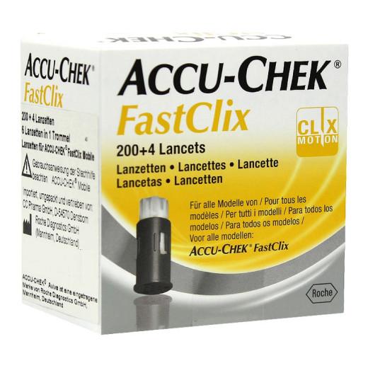 Accu-chek FastClix, 204 lancete