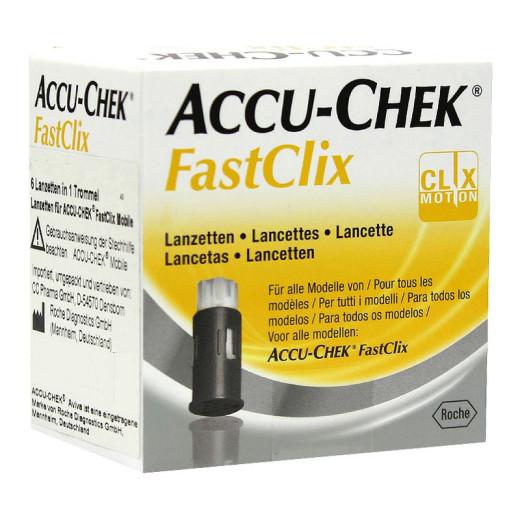 Accu-chek FastClix, 102 lanceti