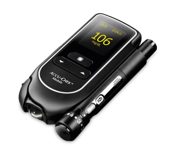 Accu-Chek Mobile, merilec glukoze v krvi
