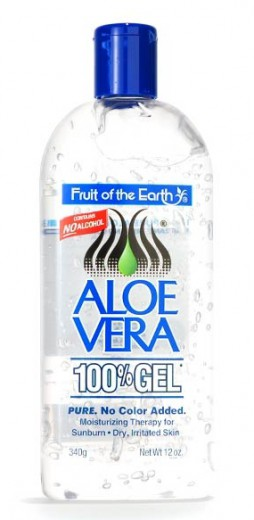 Fruit of the Earth, 100 % Aloe vera gel, 340 g