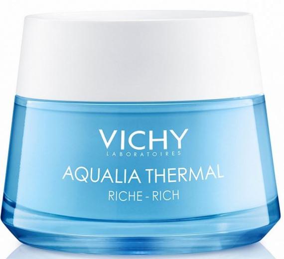 Vichy Aqualia Thermal bogata krema za vlaženje kože, 50 ml