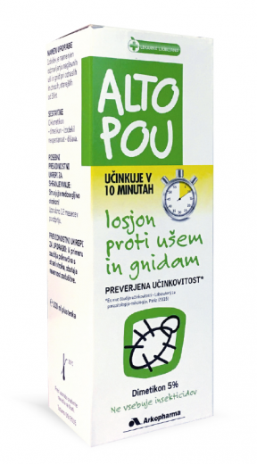 Altopou, losjon proti ušem in gnidam, 100 ml