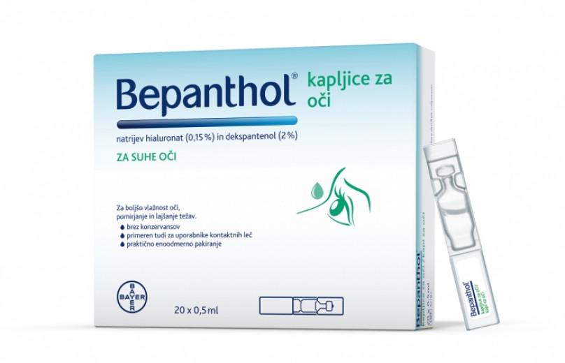Bepanthol, kapljice za oči, 20 x 0,5 ml