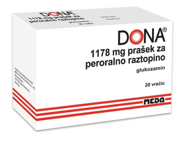 Dona 1.178 mg prašek za peroralno raztopino, 20 vrečk