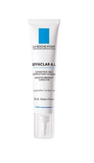 La Roche-Posay Effaclar A.I., korektor za ciljno zmanjševanje nepravilnosti, 15 ml
