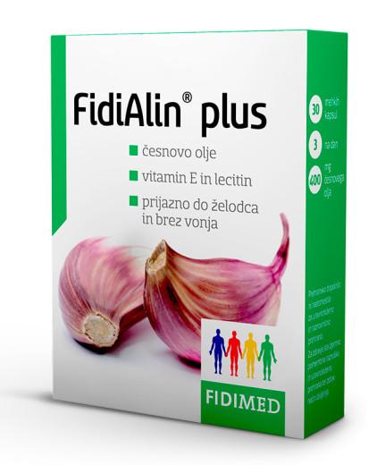 FidiAlin plus, 30 mehkih kapsul