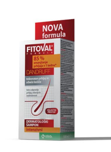 Fitoval, intenzivni šampon proti prhljaju, 100 ml
