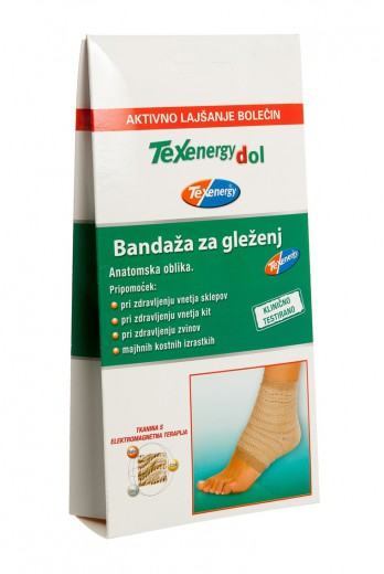 Texenergy, bandaža za gleženj - velikost L