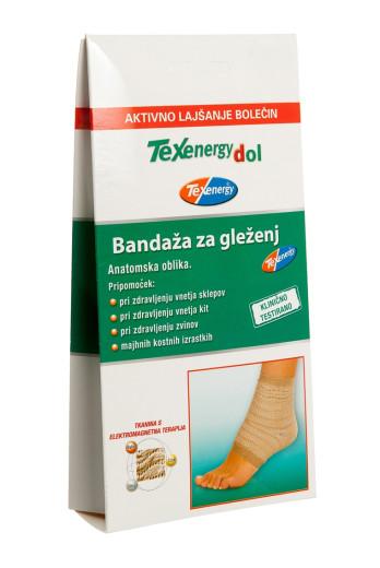 Texenergy, bandaža za gleženj - velikost M