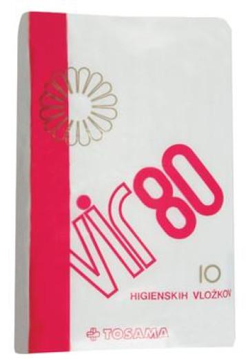 Vir 80 higienski vložki