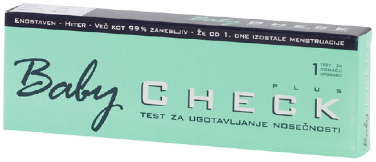 Baby Check Plus, test nosečnosti
