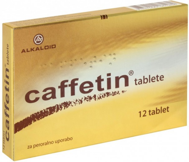 Caffetin, 12 tablet