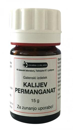 Kalijev permanganat, 15 g