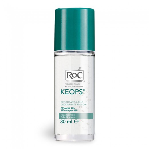 RoC Keops, roll-on dezodorant, 30 ml