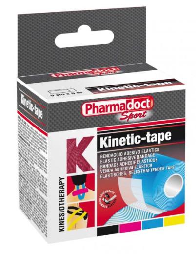 Pharmadoct, kineziološki trak 5 cm x 5 m - roza