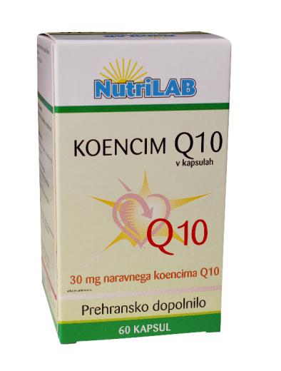 Nutrilab Koencim Q10 30 mg, 60 kapsul