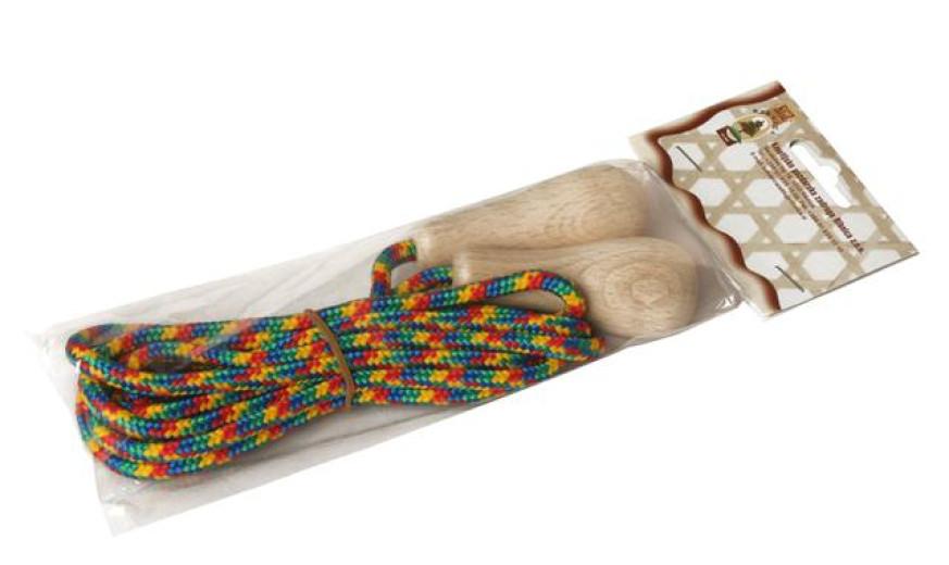 Kolebnica z lesenimi ročaji, 1 kos