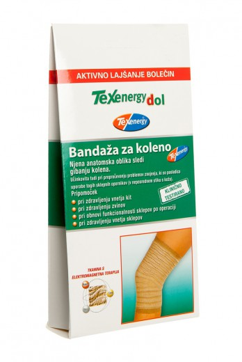 Texenergy, bandaža za koleno - velikost L