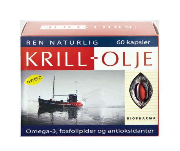 Biopharma Krill olje, 60 mehkih kapsul