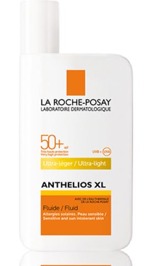 La Roche-Posay Anthelios XL, fluid za obraz - ZF 50+, 50 ml