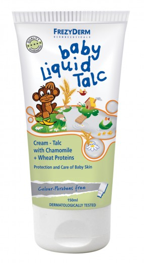 Frezyderm Baby Liquid Talc, otroški tekoči kremni puder ,150 ml