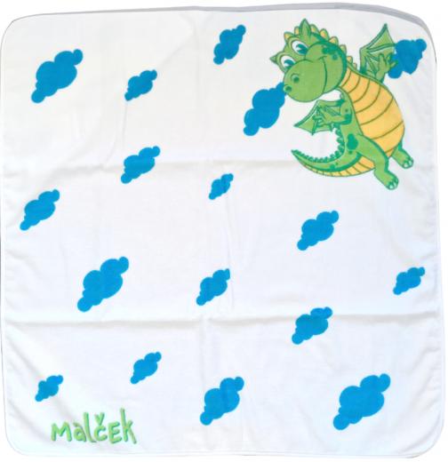 Malček brisača za dojenčke