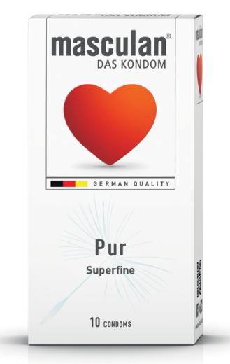 Masculan Pur, preservativi, 10 kosov
