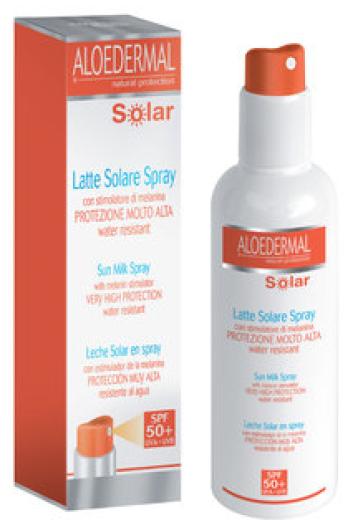 Esi Aloedermal Solar, zaščitno mleko v pršilu - ZF 50+, 200 ml