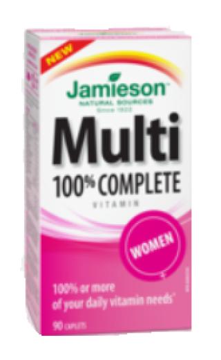 Jamieson Multivitamini in Minerali za ženske, 90 tablet