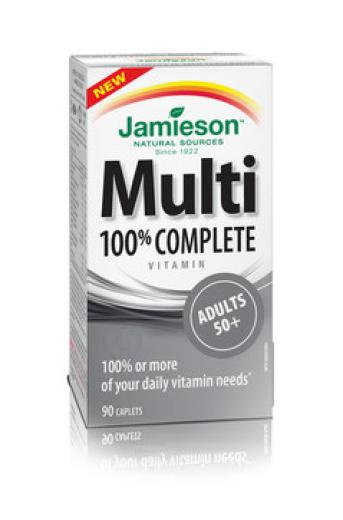 Jamieson Multivitamini in Minerali za odrasle po 50. letu, 90 tablet