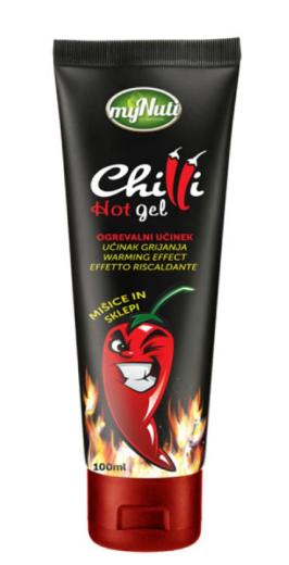 MyNuti Chili Hot Gel, gel, 100 ml