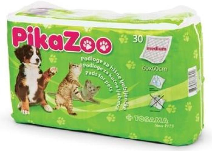 PikaZoo, podloge za hišne ljubljenčke - velikost M, 30 kosov