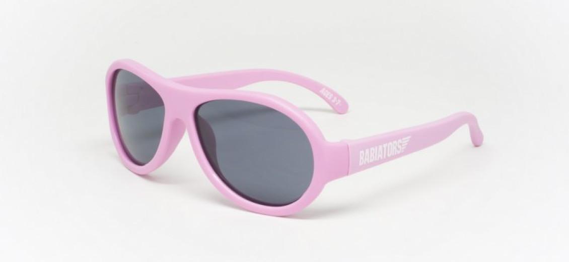 Babiators Original Junior, otroška sončna očala - roza, 1 kos