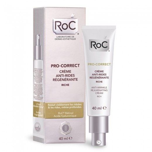 RoC Pro-Correct, hranilna krema proti gubam, 40ml