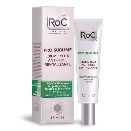 RoC Pro-Sublime, krema proti gubam za nego kože okrog oči, 15 ml