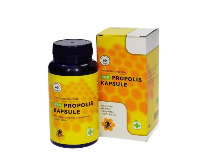 EKO Propolis kapsule 500 mg, 60 kapsul