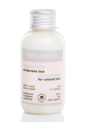 Naturavit, regenerator za barvane lase, 100 ml