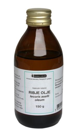 Ribje olje, 150 g
