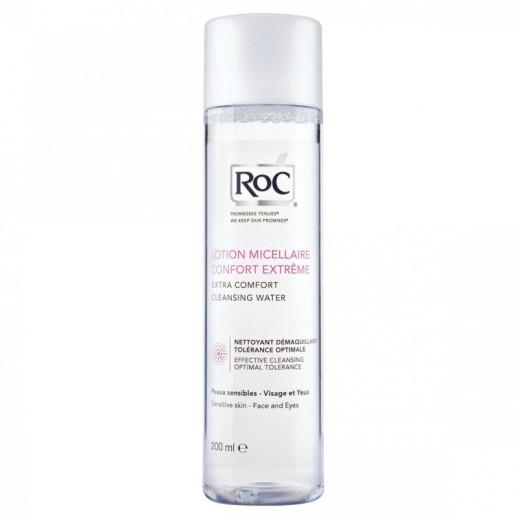 RoC micelarna čistilna voda, 200 ml
