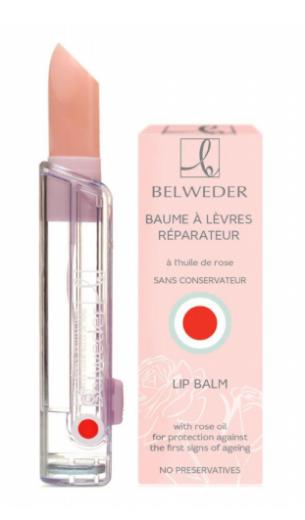 Belweder, balzam za ustnice z oljem vrtnice, 3,5 g