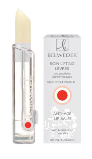Belweder, balzam za ustnice z biometričnimi peptidi, 3,5 g